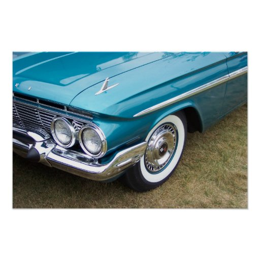 Classic Impala Front End Poster