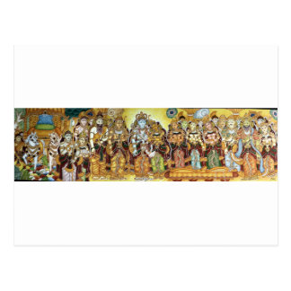 CLASSIC INDIAN PAINTING ROYAL COURT 08FEB 2013---- POSTCARD