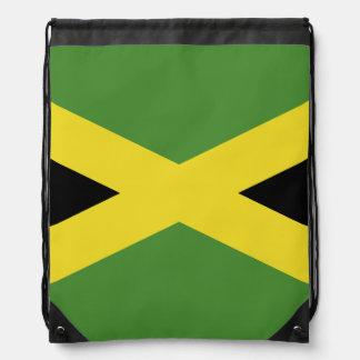 Classic Jamaican Flag Drawstring Bag