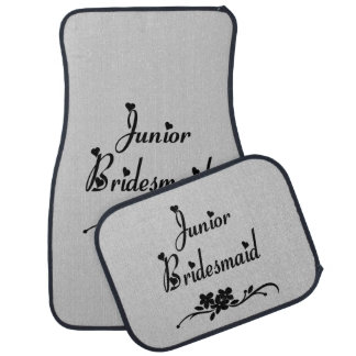Classic Junior Bridesmaid Car Mat