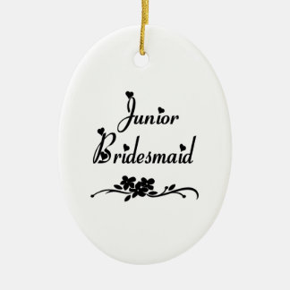 Classic Junior Bridesmaid Christmas Ornament