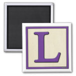 Classic Kids Letter Block L