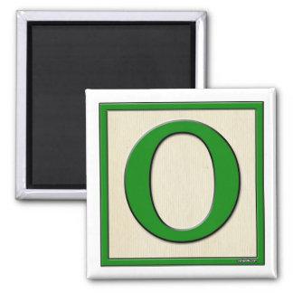 Classic Kids Letter Block O Magnet