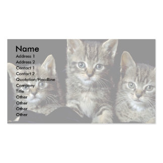 Classic Kittens Business Card Templates