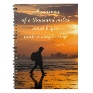 Classic Lao Tzu Journey Quote Notebooks