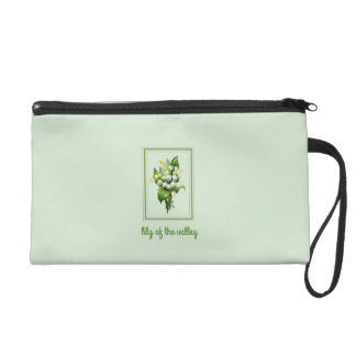Classic Lily of the Valley Wristlet