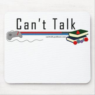 Classic Logo Can't Talk Mousepad