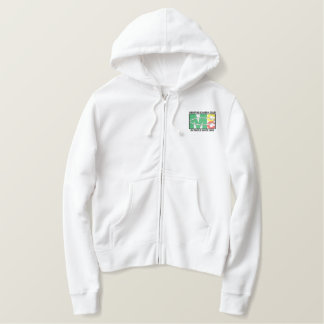 Classic Logo Women's Embroidered Zip Hoodie