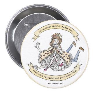 Classic Lolita Suffocate 7.5 Cm Round Badge
