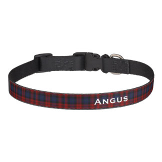 Classic MacLachlan Tartan Plaid Custom Dog Collar