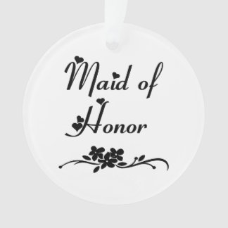Classic Maid Of Honor