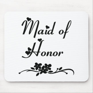 Classic Maid Of Honour Mouse Pad