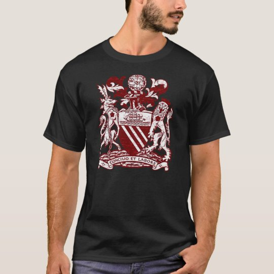 Classic Manchester United Crest T-Shirt