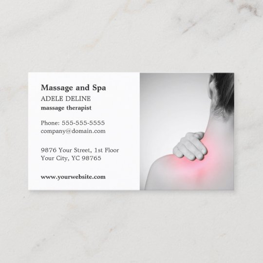 Classic massage therapist business card template zazzle classic massage therapist business card template accmission Gallery
