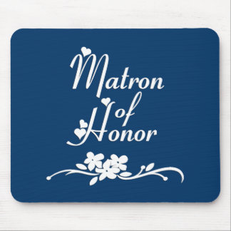 Classic Matron of Honour Mouse Pad