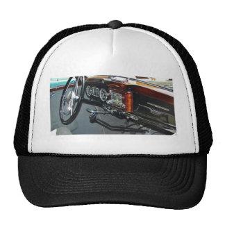 Classic Mercedes dashboard. Cap