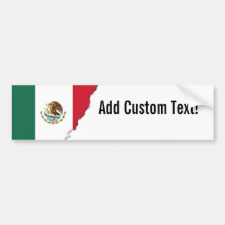 Classic Mexican Flag Bumper Sticker