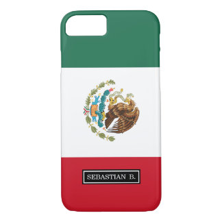 Classic Mexican Flag iPhone 7 Case