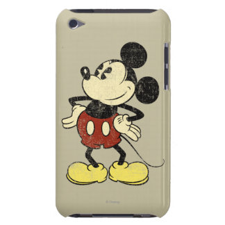 Classic Mickey | Vintage Hands on Hips Barely There iPod Cases