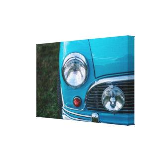 Classic Mini Austin Canvas