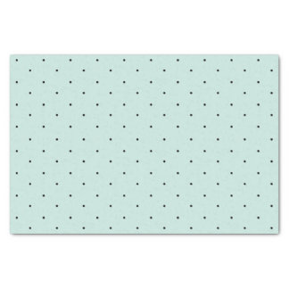 Classic Mini Black Polka Dots Pattern Tissue Paper