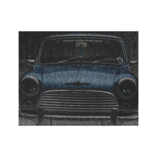 Classic Mini Cooper Canvas Print
