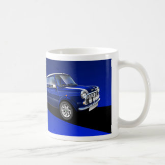 Classic Mini cooper Illustrated mug