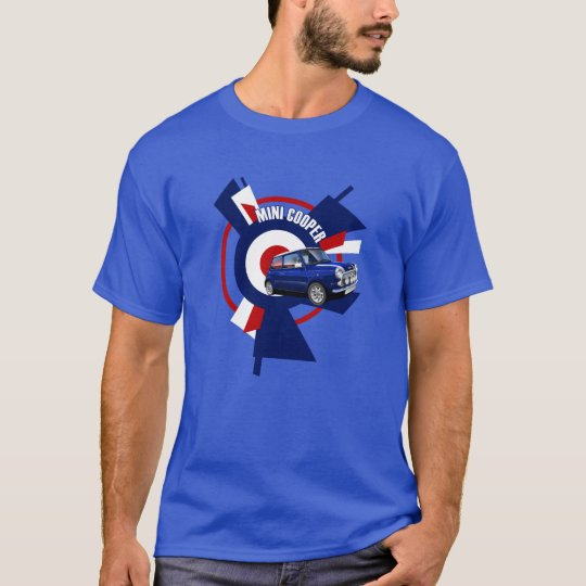 Classic Mini Cooper Illustrated T-shirt
