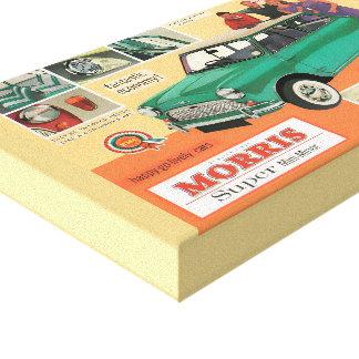 Classic Mini Morris Canvas