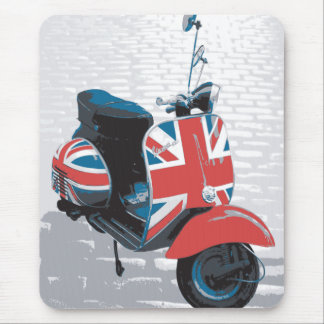 Classic Mod Scooter Mouse Mat