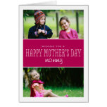 Classic & Modern Mother's Day Photo Card