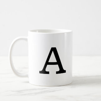 Classic Monogram Coffee Mug