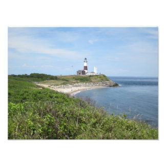 classic montauk lighthouse picture photographic print