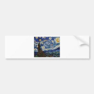 CLASSIC MOSAIC ARTWORK BUMPER STICKER