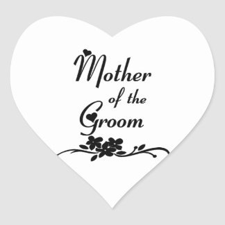Classic Mother of the Groom Sticker