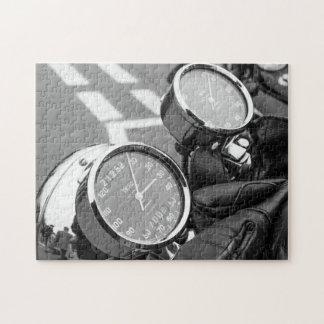 Classic Motor Bike Jigsaw Puzzle