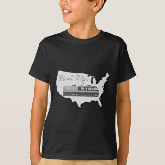 Classic Motor Home USA Road Trip T-Shirt