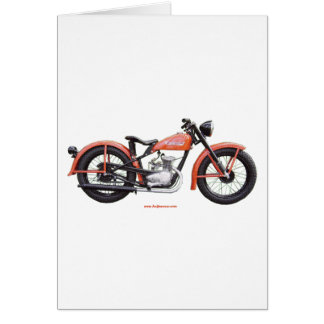 Classic Motorbike 125 HD_Texturized Card
