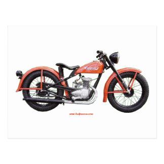 Classic Motorbike 125 HD_Texturized Postcard