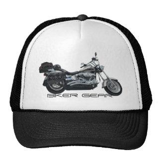 Classic Motorbike Power Machine Rider Gear Trucker Hat
