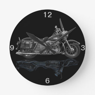 Classic  Motorcycle Wall Clocks