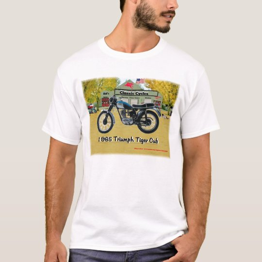 Classic Motorcycles 1969 Triumph Shirt