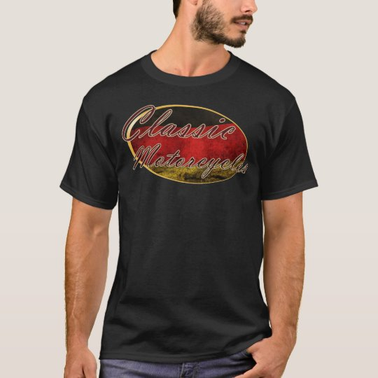 Classic Motorcycles German T-Shirt