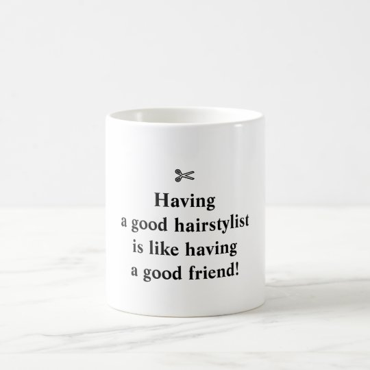 Classic Mug for Cool Hairstylists!