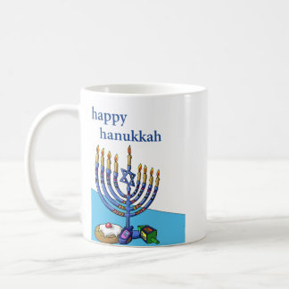 Classic Mug, Happy Hanukkah Coffee Mug