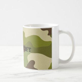 classic mug top secret camouflage military