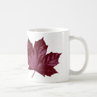 Classic Mug with a Maple Leaf