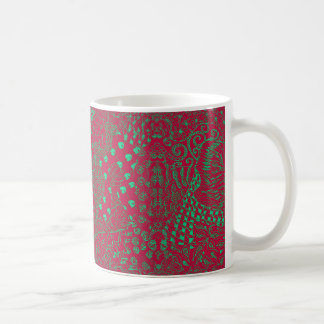 Classic Mug with Raspberry Hippie Dippie Design
