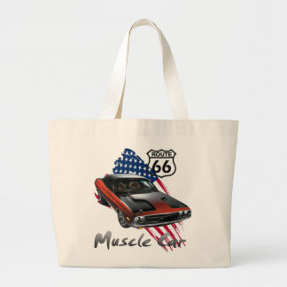 Classic Muscle Car product for the Challenger fan Tote Bag