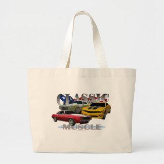 classic muscle jumbo tote bag